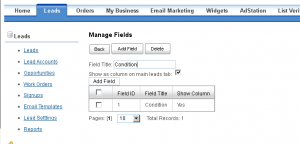 managefields